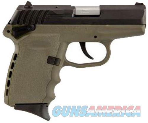 Sccy CPX-1 Black/FDE 9mm 3.1-inch 10rd Ambidextrous Safety  Guns > Pistols > L Misc Pistols