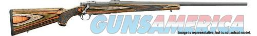 Ruger M77 Hawkeye Sporter Stainless / Laminate Wood 6.5 Creedmoor 24-inch 4Rds  Guns > Rifles > R Misc Rifles