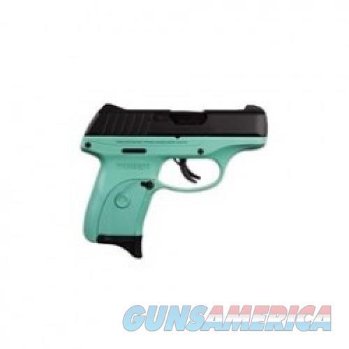 Ruger EC9s Turquoise Blue / Black 9mm 3.12-inch 7Rds  Guns > Pistols > L Misc Pistols