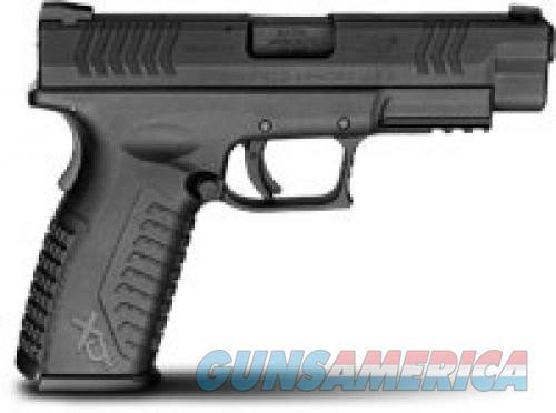 "Springfield XDM94545BE XD(M) Full Size DA 45 ACP 4.5"" 10+1 Black  Guns > Pistols > L Misc Pistols"