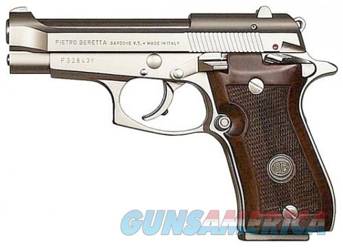 BERETTA 85 CHEETAH 380ACP 9RD NICKEL WOOD  Guns > Pistols > Beretta Pistols > Cheetah Series > Model 85