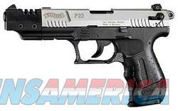 WALTHER ARMS WTH P22 22LR CA TGT NICKEL 5  Guns > Pistols > Walther Pistols > Post WWII > P22