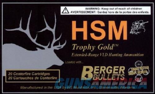 HSM Trophy Gold Rifle Ammunition  Non-Guns > Ammunition