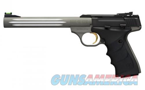 BROWNING BUCK MARK 22LR 7.25 FLTD URX LT GRAY ADJ FOS  Guns > Pistols > Browning Pistols > Buckmark