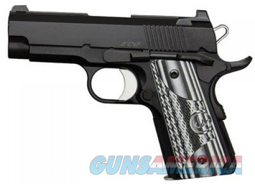 Dan Wesson ECO Black .45ACP 3.5-inch 7rd Night Sights  Guns > Pistols > Dan Wesson Pistols/Revolvers > 1911 Style