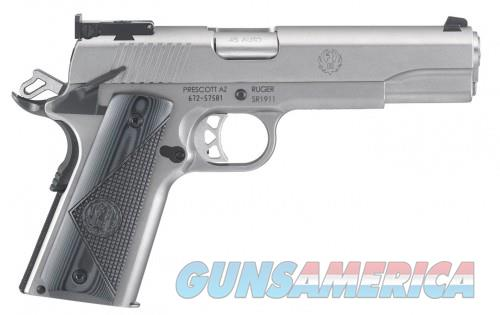 Ruger SR1911 Target Stainless .45 ACP 5-in 9 Rounds  Guns > Pistols > L Misc Pistols