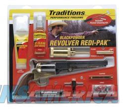 TRADITIONS 1851 NAVY 44CAL REDI PACK BRASS BLUED  Guns > Pistols > TU Misc Pistols
