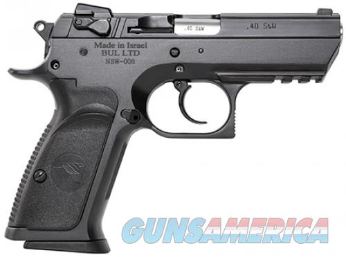 Magnum Research Baby Eagle III Black Steel .40SW 3.9-inch 13rd Semi-Compact  Guns > Pistols > L Misc Pistols
