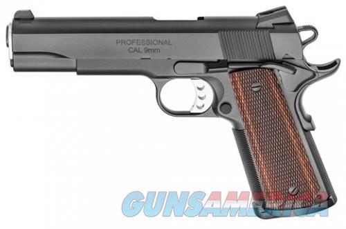 Springfield 1911 Professional Black 9mm 5-inch 7Rds  Guns > Pistols > L Misc Pistols