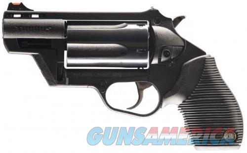Taurus Public Defender Single/Double Black .410 GA / .45 LC 5Rds  Guns > Pistols > Taurus Pistols > Revolvers