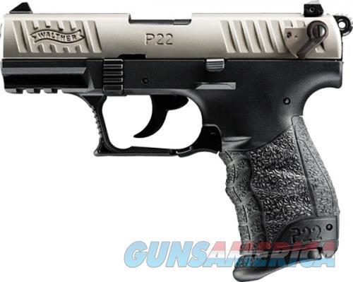 Walther P22Q Nickel .22 LR 3.42-inch 10Rds  Guns > Pistols > L Misc Pistols