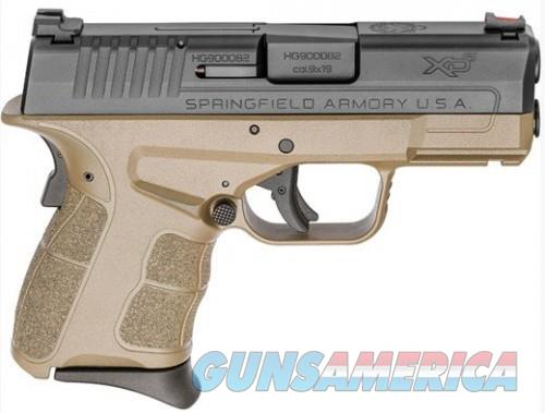 Springfield XDS MOD2 9MM FDE 3.3-inch FO Fiber Optic Sight 2-Mags 7Rds  Guns > Pistols > L Misc Pistols