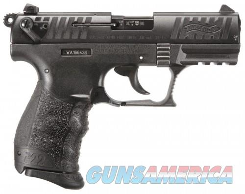 "WALTHER P22 CA .22LR 3.42"" AS  Guns > Pistols > L Misc Pistols"