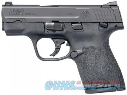 """Smith & Wesson M&P Shield M 2.0 Black 9mm 3.1"""" Barrel 8 Round MA Compliant  Guns > Pistols > L Misc Pistols"""