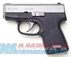 Kahr Arms CW380 Stainless / Black .380 ACP 2.58-inch 6Rd Fixed Sights  Guns > Pistols > Kahr Pistols