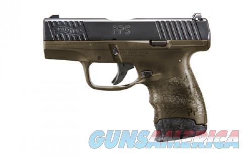 Walther PPS M2 Black / Flat Dark Earth 9mm 3.2-inch 7Rds  Guns > Pistols > L Misc Pistols