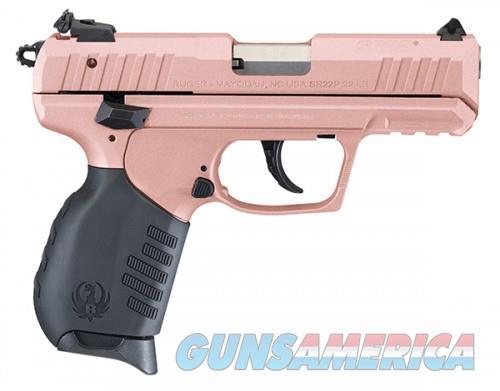 Ruger SR22P 22LR DA PST 3.5 ROSE  Guns > Pistols > L Misc Pistols