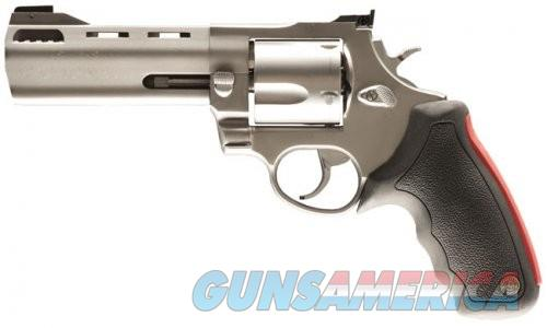Taurus 454 5-inch Matte Stainless Adjustable Sights Ported 5rd  Guns > Pistols > L Misc Pistols