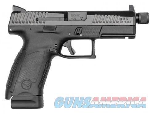 CZ P-10 Compact Suppressor Ready Black 9mm 4.61-inch 17Rds  Guns > Pistols > L Misc Pistols