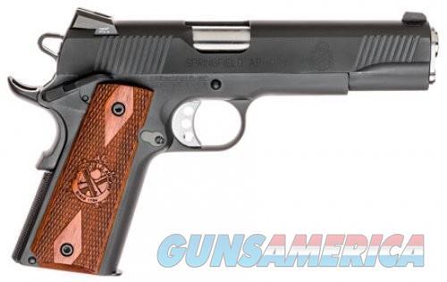 Springfield 1911 Loaded Black Parkerized .45 ACP 5-inch 7 Rd  Guns > Pistols > L Misc Pistols