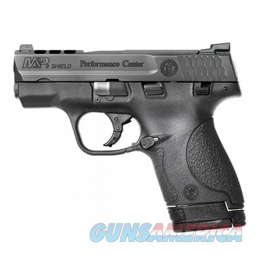 "S&W M&P SHIELD PORTED 9MM 3.1""-NS PERFORMANCE CENTER WITH NIGHT SIGHTS   Guns > Pistols > Smith & Wesson Pistols - Autos > Shield"