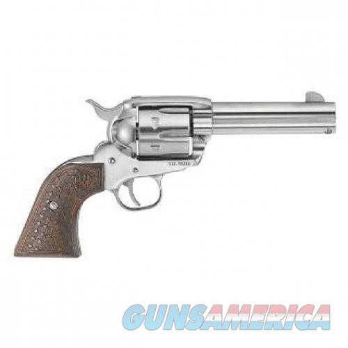 Ruger Vaquero Fast Draw Stainless .357 Mag 4.625-inch 6Rd Dooley Gang Wood Grips TALO Exclusive  Guns > Pistols > L Misc Pistols