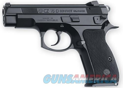 CZ 75 91194 75DPCR 9MM BLACK 14+1 3.8in FS ALLOY FRAME/DECOCKER  Guns > Pistols > L Misc Pistols