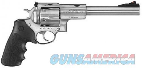 Ruger Super Redhawk Revolvers - Stainless Steel  Guns > Pistols > R Misc Pistols