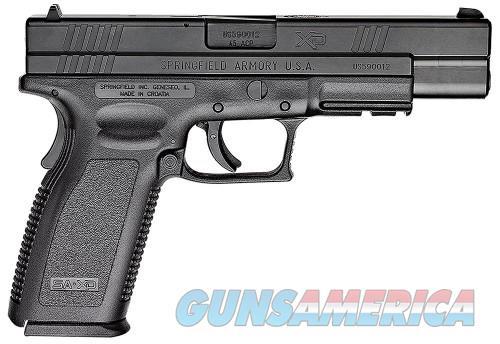 Springfield XD Tactical Essentials Black 45ACP 5-inch 10Rd  Guns > Pistols > L Misc Pistols