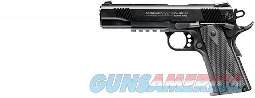 Colt Government 1911 A1 Rail Gun Pistol 22LR 10+1  Guns > Pistols > L Misc Pistols