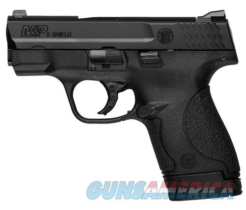 Smith & Wesson M&P SHIELD 9MM 3.1 BLK POLY 8RD MA LEGAL  Guns > Pistols > Smith & Wesson Pistols - Autos > Polymer Frame