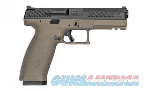 "CZ P-10F 9MM 4.5"" FDE/BLK NS 19RD  Guns > Pistols > L Misc Pistols"