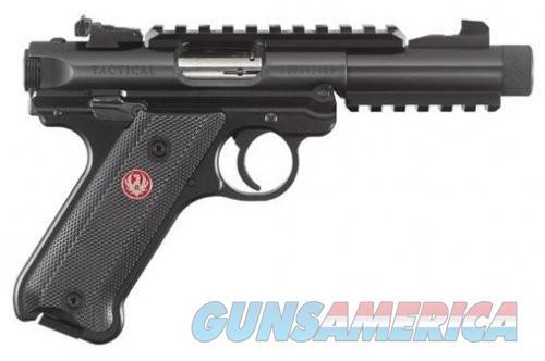 Ruger MKIV Tactical Black 22LR 4.4 inch 10rd  Guns > Pistols > L Misc Pistols