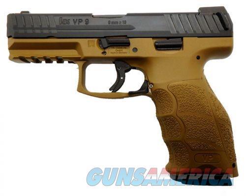 HK VP9 Pistols (Sub-Compact)  Guns > Pistols > Heckler & Koch Pistols > Polymer Frame