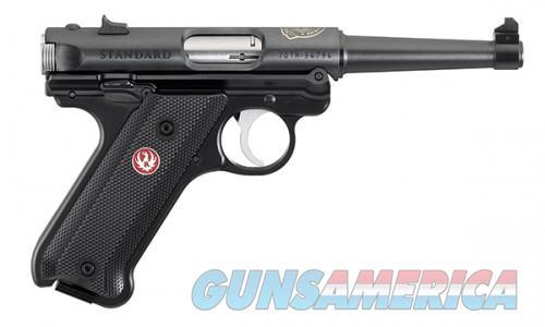 Ruger MK-IV STD 70TH 22LR 4.75B  Guns > Pistols > L Misc Pistols