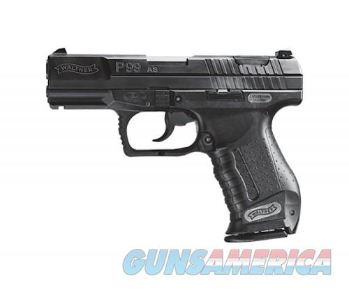 Walther P99AS Black 9mm 4-inch 15Rds  Guns > Pistols > L Misc Pistols