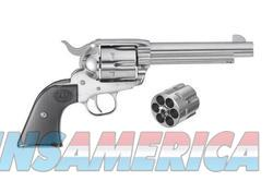 Ruger New Vaquero 45C/45AP 5.5 Black Stainless Steel  Guns > Pistols > Ruger Single Action Revolvers > Cowboy Action
