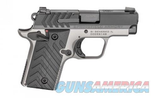 SPRINGFIELD 911 380ACP 7RD TITANIUM/BLACK  Guns > Pistols > L Misc Pistols
