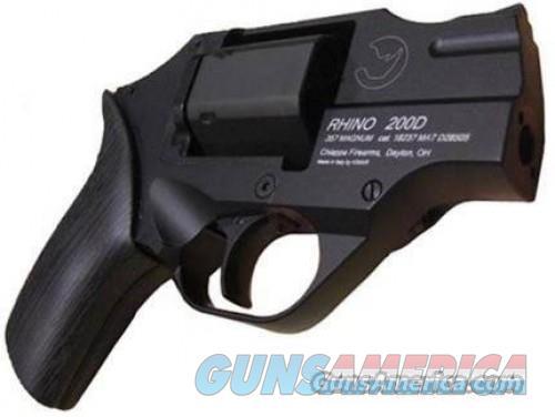 Chiappa Rhino 200D Black .357Mag 2-inch 6rd  Guns > Pistols > Chiappa Pistols & Revolvers > Rhino Models