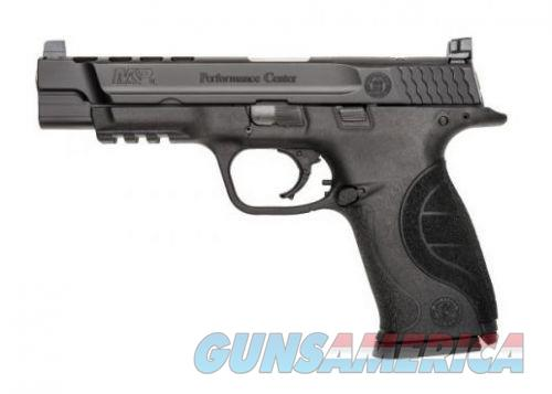 Smith & Wesson M&P9 9MM 5 PORTED BLK POLY 17RD  Guns > Pistols > Smith & Wesson Pistols - Autos > Polymer Frame