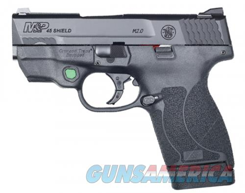 Smith & Wesson Shield M2.0 .45ACP 7 Round Green Laser Fixed Sights 12090  Guns > Pistols > L Misc Pistols