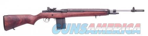 Springfield M1A National Match Walnut / Stainless 308 Win /7.62 NATO 22-Inch 10Rd  Guns > Rifles > Springfield Armory Rifles > M1A/M14