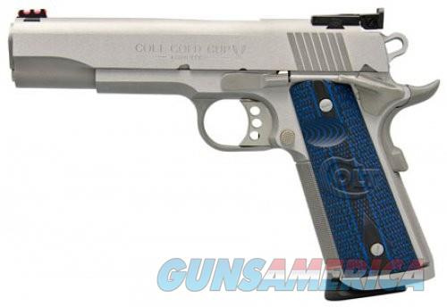 Colt Firearms Gold Cup Trophy Stainless .45 ACP 5-inch 8Rds  Guns > Pistols > L Misc Pistols