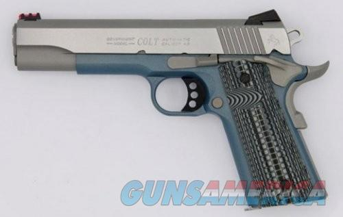 Colt Competition Government Blue 45 ACP 5 Inch Barrel 8 Rnd  Guns > Pistols > L Misc Pistols