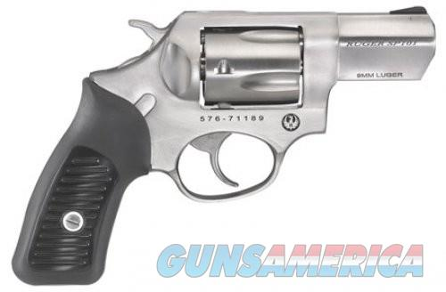 Ruger SP101 9MM 2.25 Stainless Steel Fixed Sights  Guns > Pistols > L Misc Pistols