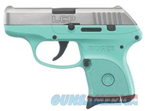 Ruger LCP 380ACP TURQUOISE/SS 6+1  Guns > Pistols > L Misc Pistols