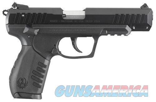 Ruger SR22 22LR 4.5 BLK POLY ALUM ANODIZED SLIDE  Guns > Pistols > L Misc Pistols