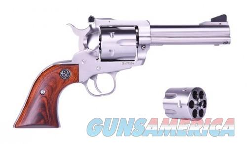 Ruger Blackhawk Stainless 10mm / .40 SW 4.625-inch 6Rds  Guns > Pistols > Ruger Single Action Revolvers > Single Six Type