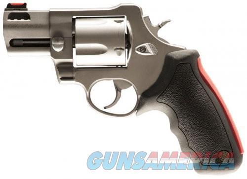 Taurus 454 2.5-inch Matte Stainless Fixed Sights Ported 5rd  Guns > Pistols > Taurus Pistols > Revolvers