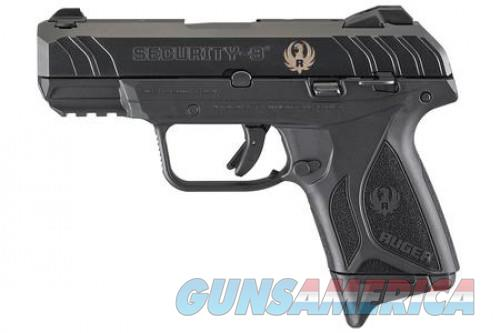 Ruger Security 9 Compact 9mm 3.42in 10rd Blued Navy SEAL Foundation 3828  Guns > Pistols > L Misc Pistols